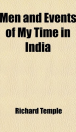 men and events of my time in india_cover