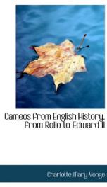 Cameos from English History, from Rollo to Edward II_cover