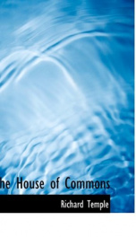 the house of commons_cover