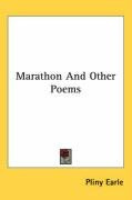 marathon and other poems_cover