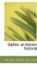 Daphne, an autumn pastoral_cover