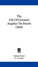 the life of giovanni angelico da fiesole_cover