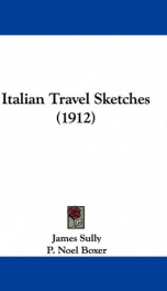 italian travel sketches_cover