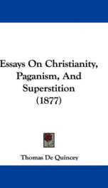 essays on christianity paganism and superstition_cover