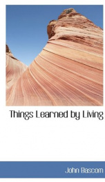 things learned by living_cover