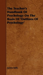 the teachers handbook of psychology on the basis of outlines of psychology_cover