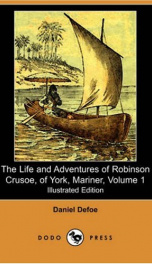 The Life and Adventures of Robinson Crusoe of York, Mariner, Volume 1_cover