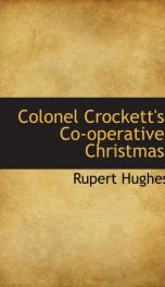 Colonel Crockett's Co-operative Christmas_cover