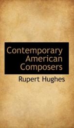 Contemporary American Composers_cover