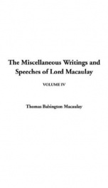 The Miscellaneous Writings and Speeches of Lord Macaulay_cover