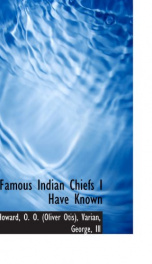 famous indian chiefs i have known_cover