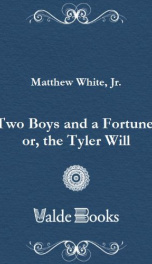 Two Boys and a Fortune, or, the Tyler Will_cover