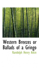 western breezes or ballads of a gringo_cover