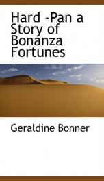 hard pan a story of bonanza fortunes_cover