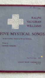 five mystical songs_cover