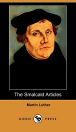 The Smalcald Articles_cover
