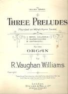 three preludes for organ_cover