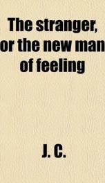 the stranger or the new man of feeling_cover
