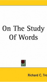 on the study of words_cover