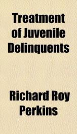 treatment of juvenile delinquents_cover
