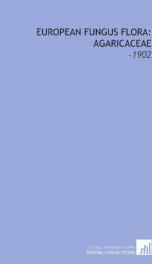 european fungus flora agaricaceae_cover