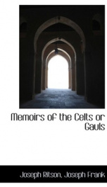 memoirs of the celts or gauls_cover