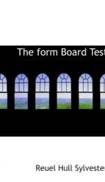 the form board test_cover