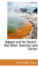 balaam and his master and other sketches and stories_cover
