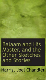 balaam and his master and the other sketches and stories_cover