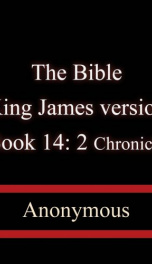 The Bible, King James version, Book 14: 2 Chronicles_cover