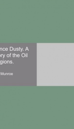 prince dusty a story of the oil regions_cover