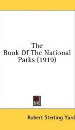 The Book of the National Parks_cover