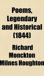 poems legendary and historical_cover