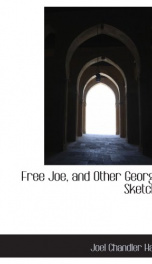 free joe and other georgian sketches_cover