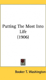 putting the most into life_cover