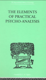the elements of practical psycho analysis_cover