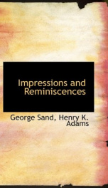 impressions and reminiscences_cover