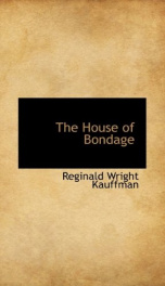 the house of bondage_cover