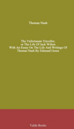 The Vnfortunate Traveller, or The Life Of Jack Wilton_cover