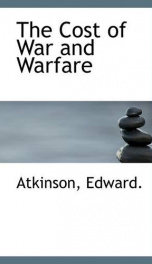 the cost of war and warfare_cover