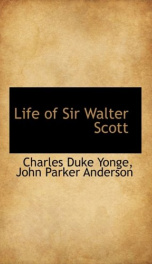 life of sir walter scott_cover
