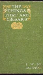 the things that are caesars a novel_cover