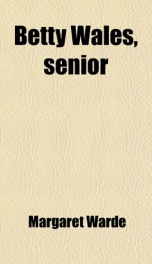 Betty Wales Senior_cover