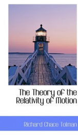 the theory of the relativity of motion_cover