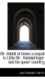 mr rabbit at home a sequel to little mr thimblefinger and his queer country_cover