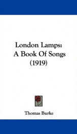 london lamps a book of songs_cover
