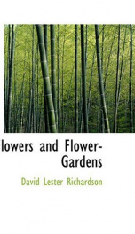 Flowers and Flower-Gardens_cover