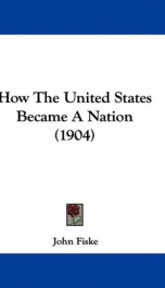 how the united states became a nation_cover