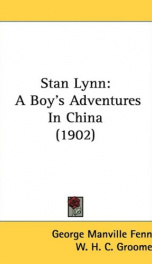 stan lynn a boys adventures in china_cover
