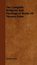 the complete religious and theological works of thomas paine_cover